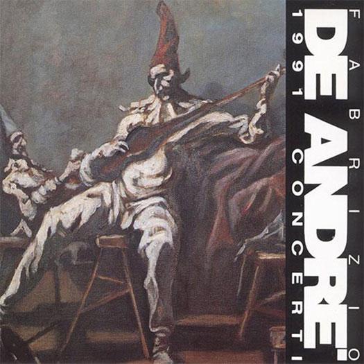 Fabrizio De André 1991 Concerti