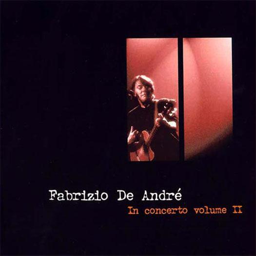 Fabrizio De André in concerto volume 2 (2001)