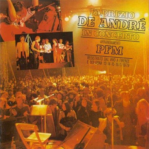 Fabrizio De André in concerto con PFM - vol.1