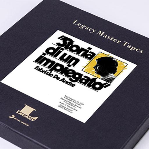 Storia di un impiegato, Legacy Master Tape, Sony Music Entertainment Italy S.p.a