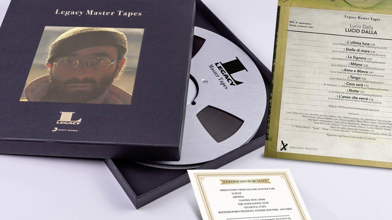 Master Legacy Tapes Sony Music Italia